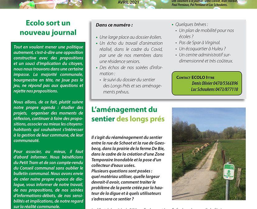 Ittre en l'an vert – Avril 2021